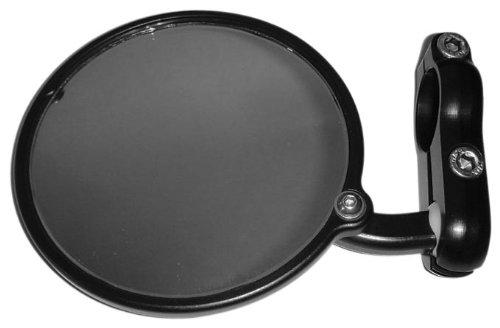 CRG 3'' Black Hindsight Right Bar End Mirror HS-100-R