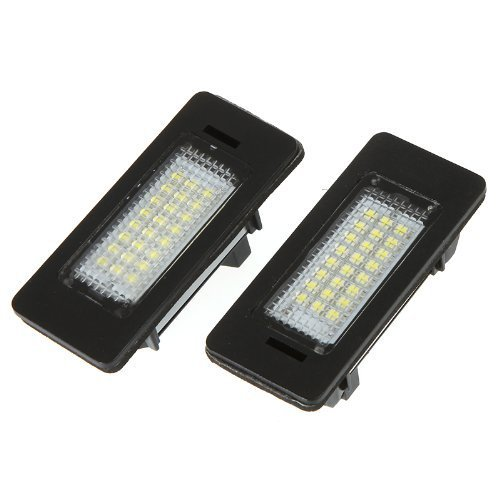 License Series Plate (Docooler Led License Plate Light Lamp for BMW 1 3 5 Series x1 x3 x5 x6 M3)