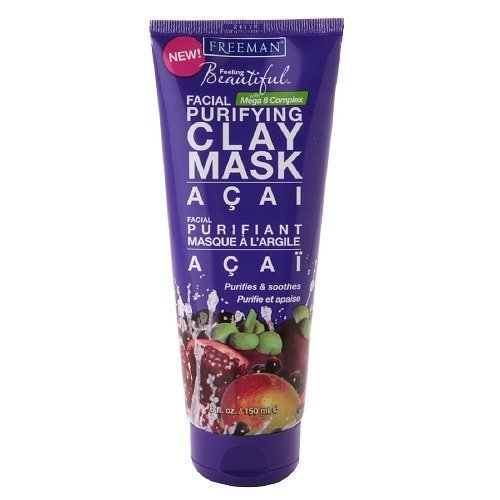 Freeman Feeling Beautiful Clay Purifying Facial Mask 6 fl oz (150 ml)