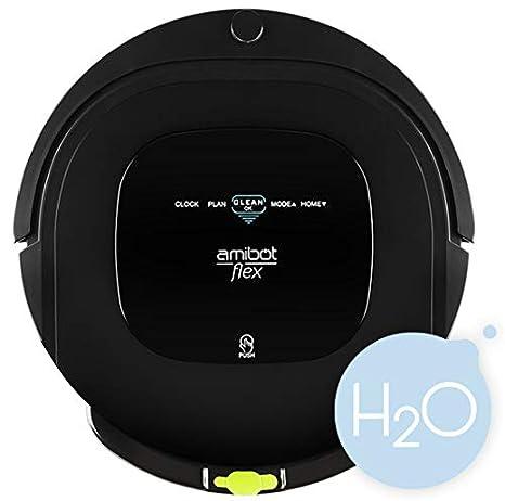 Amibot Flex H2O - Robot aspirador y limpiador, 200 m2 en 2 h o 70 m2