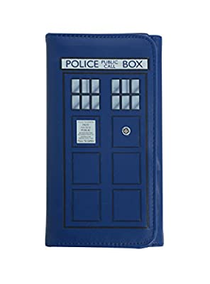 Doctor Who TARDIS Embossed Flap Wallet
