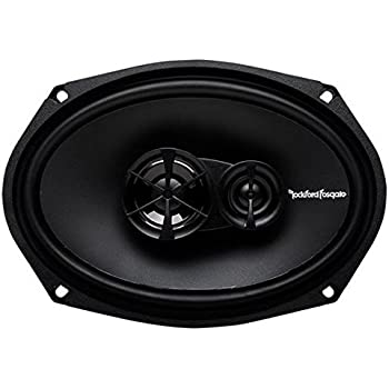 Rockford Fosgate R169X3 Prime 6 x 9 Inch 3-Way Full-Range Coaxial Speaker - Set of 2