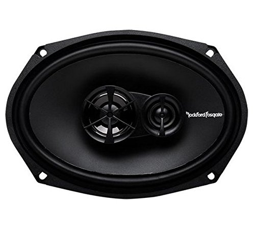 Rockford Fosgate R169X3 Prime 6 x 9 Inch 3-Way Full-Range Coaxial Speaker - Set of 2 (2 Way Coaxial Full Range)