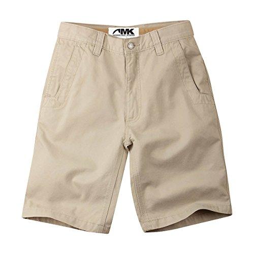 Teton Twill Pant - Mountain Khakis Men's Teton Twill Short Relaxed Fit, Sand, 34 W 8in