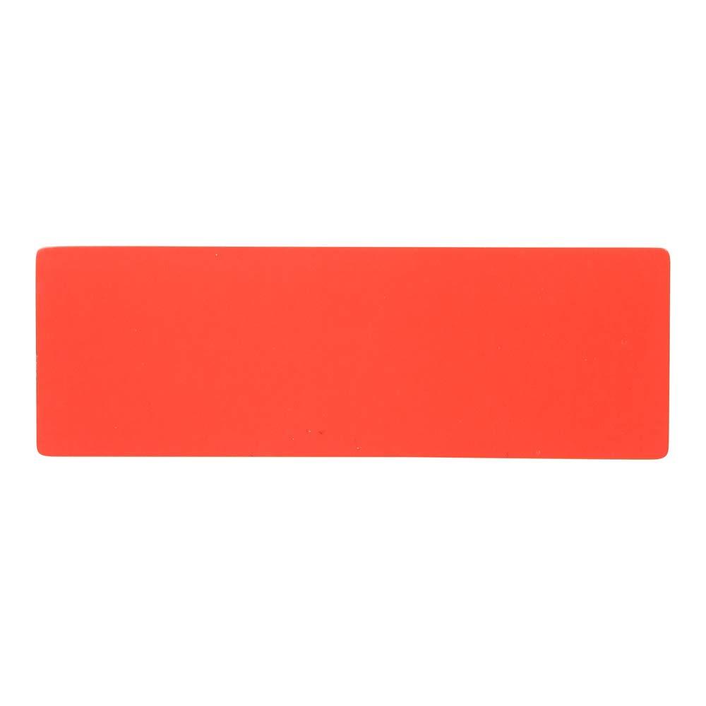 Etiquettes Magn/étiques R/éinscriptibles 7,5 x 2,5 cm 5 Jaune, 5 Vert, 5 Rouge, 5 Orange et 5 Bleu - pour Tableau Magn/étique. Ensemble de 25 Aimants Mix