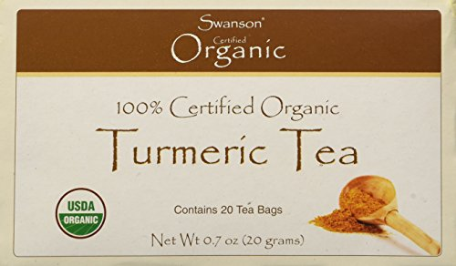 Swanson Turmeric Tea 20 Bag