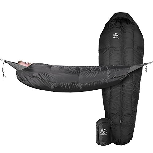 Outdoor Vitals StormLoft MummyPod Down Sleeping Bag for Hammock or Ground ()