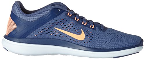 Nike Femme 2016 blue Sunset Course De Coastal Moon Glow Blue Rn Chaussures Flex Wmns Bleu rq0wAr