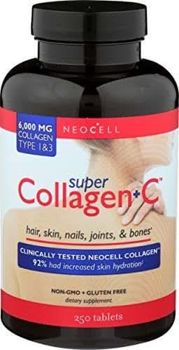 Neocell, Collagen Super Plus C, 250 Tablet