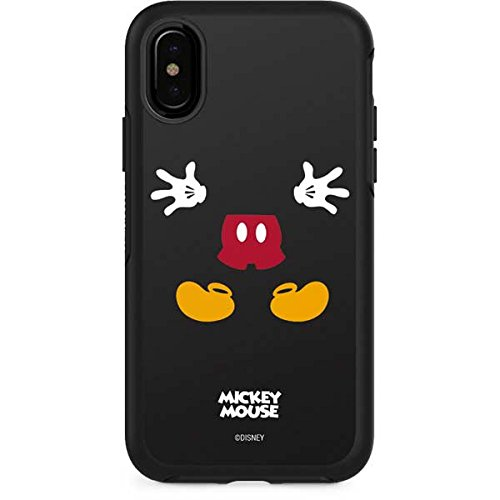 wholesale dealer 053f4 f143d Amazon.com: Skinit Mickey Mouse OtterBox Symmetry iPhone X Skin ...