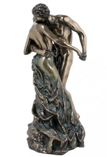 The Waltz Nude Lovers Statue Camille Claudel Replica Bronze Finish (Bronze Replica)