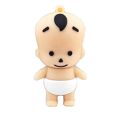 Aneew 16GB Pendrive Baby Kid Boy USB Flash Drive Memory Thumb Stick