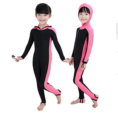 Snorkeling swimming full suit bodysuit wetsuit with hood ...