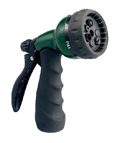 Orbit 7-Pattern Zinc Turret Pistol Hose Spray Nozzle 58230N