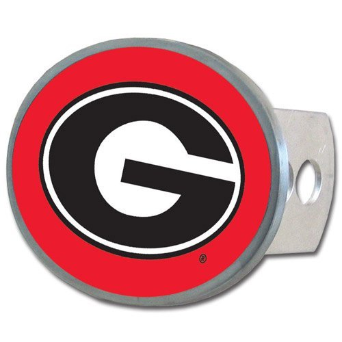NCAA Georgia Bulldogs Oval Hitch Cover
