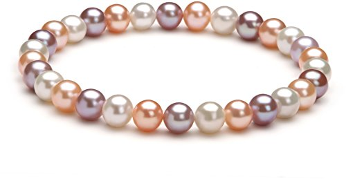 - Donna Multicolor 6-7mm AA Quality Freshwater Cultured Pearl Bracelet-7 in length