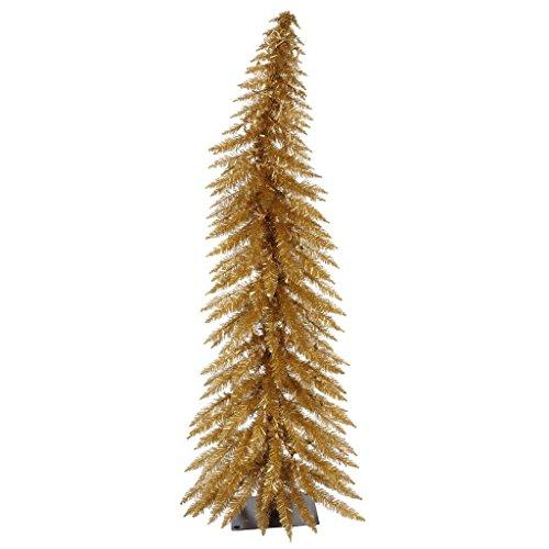 Vickerman Antique Gold Whimsical Tree