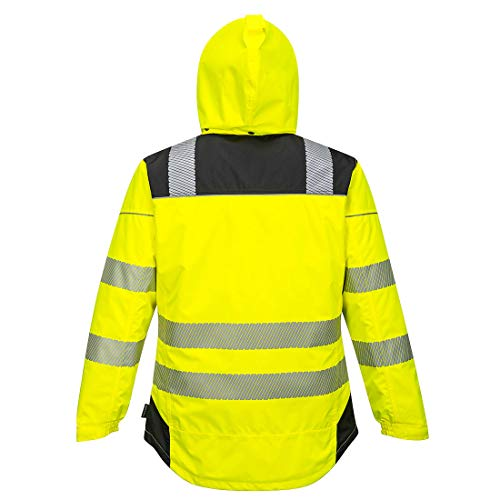 Portwest PW3 Hi-Vis Winter Jacket Work Safety Protective Reflective Waterproof Coat ANSI 3, 6XL by Portwest (Image #3)
