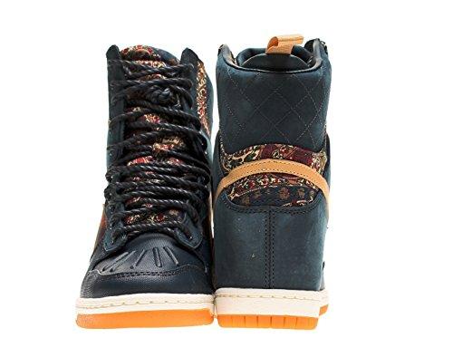 timeless design 4561a 88aca Nike Dunk Sky Hi Liberty QS Womens Wedge Sneakerboot 632180-402 ...