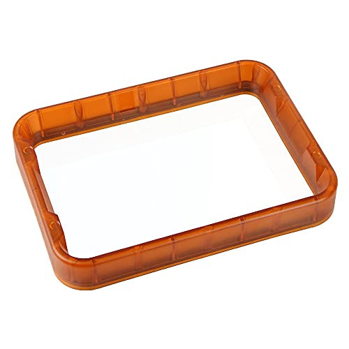 Resin LCD 3D Printer Material Rack DLP Printing Resin Vat 255 * 190 * 34mm with FEP Film Compatible with Wanhao D8 3D Printer
