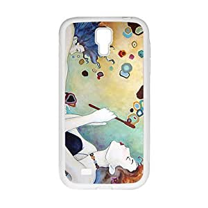 Blow Bubbles Painting Fashion Personalized Clear Cell Phone Case For Samsung Galaxy S4