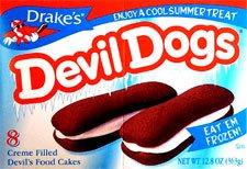Hostess Drake's Cakes Devil Dogs, 8 cakes,13.63 oz (pack of 2)