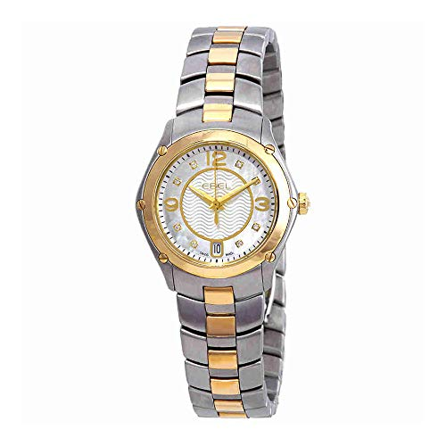 Ebel Sport Diamond White Guilloche Dial Ladies Watch 1216183