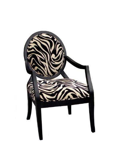 Zebra Accent Chair - 5