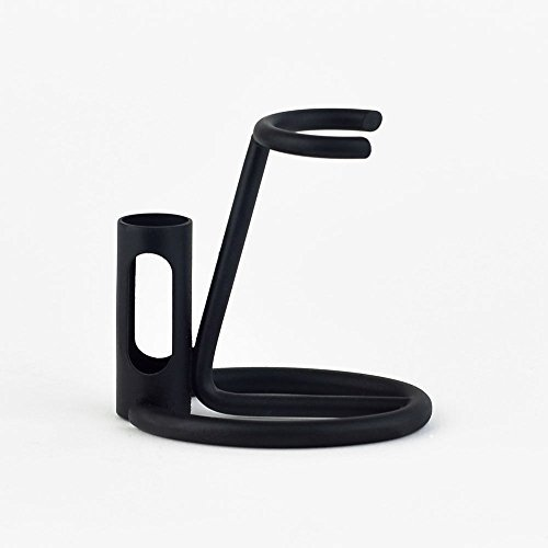 Omega 206N - Razor and Shaving Brush Stand-Gunmetal Black by Omega