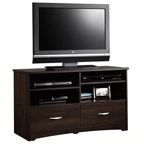 042666111478 - Sauder Beginnings TV Stand with Drawers, Cinnamon Cherry carousel main 0