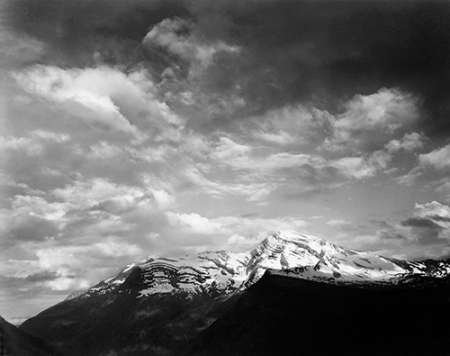 Posterazzi Poster Print Collection Heavens Peak Glacier Montana-National Parks and Monuments 1941 Ansel Adams, (11 x 14), Multicolored