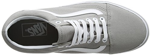 Vans Ua Old Skool, Zapatillas para Mujer Gris (Drizzle/true White)