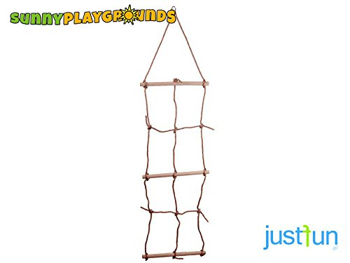 Climbing Cargo Rope Net Ladder for Kids- Outdoor and Indoor Playgrounds set Accessories for Kids