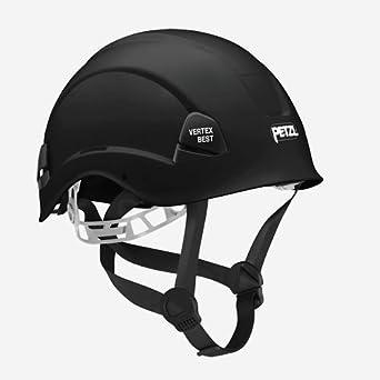 Petzl a10bna Vertex mejor casco de cómodo para el trabajo en altura y rescate, Negro