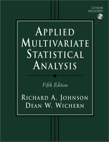 Applied Multivariate Statistical Analysis (5th Edition)