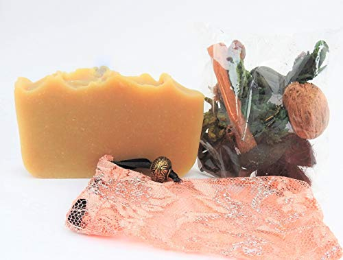 ORGANIC DONKEY MILK SOAP - Nature-Based Skin - Luxury Milk Soap -Handcrafted in Ohio by Cleopatra's Beauty Line