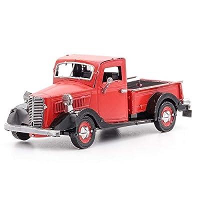 Fascinations Metal Earth 1937 Ford Pickup 3D Metal Model Kit: Toys & Games