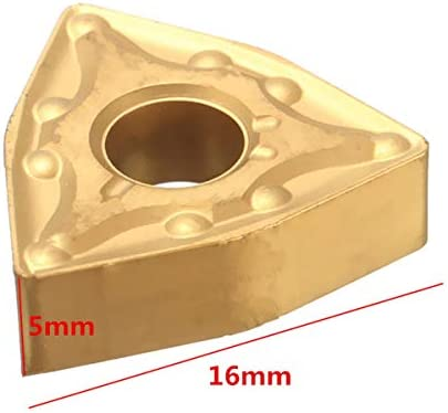 PIKA PIKA QIO 10pcs WNMG0804 titannitriert Carbide Insert WNMG432 Schneidewerkzeug for CNC-Edelstahl-Werkzeug Drehwerkzeuge