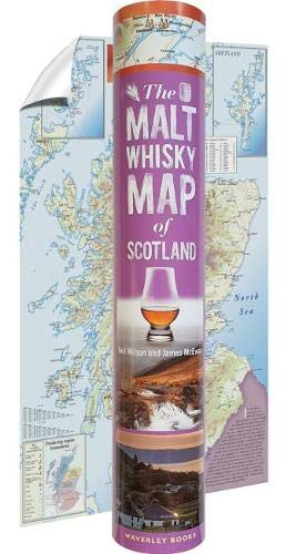 The Malt Whisky Map of Scotland (in a ()