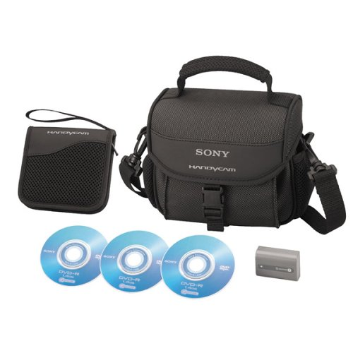 Sony ACCDVDP2 Accessory Kit for DCR-DVD 203, 403, 105, 205, 305, 405 & 505 Camcorders from Sony