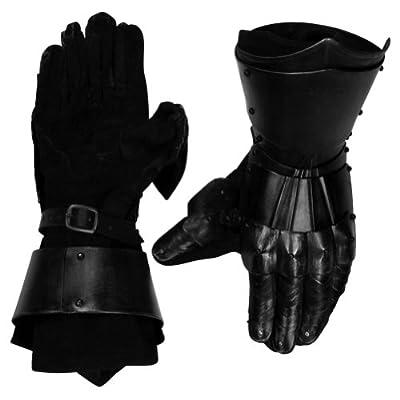 Armor Venue - Conquest Undead Gauntlets - Black - One Size Armour