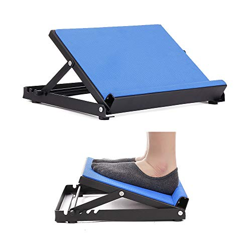 NEPPT Slant Board Calf Stretcher Ankle Therapy Stretching Board Calf Stretch Wedge Metal Plantar Fasciitis Foot Calf Incline Exerciser Adjustable Physical Therapy Equipment (330 lbs Capacity)