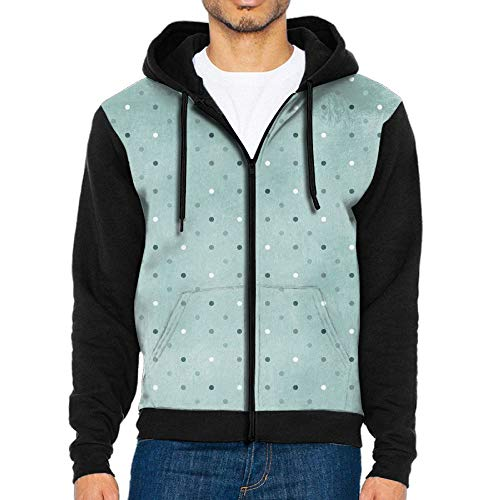 Colece Point Stain Light Mens Casual Slim Fit Hoodie Zip-Up Long Sleeve Active Jersey Jackets -