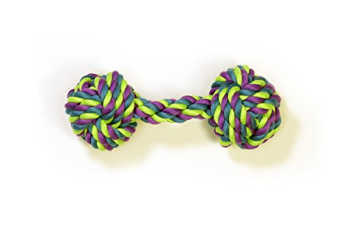 Pet Champion Large Dog Bone Cotton Rope Toy, Assorted
