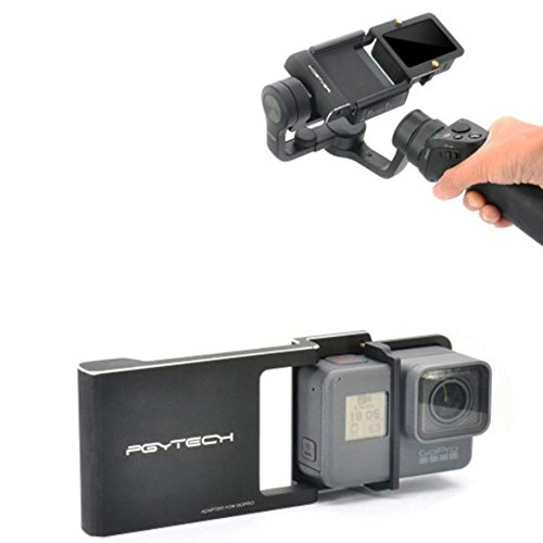 Price comparison product image Shaluoman Adapter for Osmo Mobile zhiyun Gopro Hero 5 4 3 + Xiaoyi Accessories Switch Mount Plate Gimbal Camera