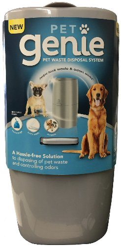 Pet Genie Ultimate Pet Waste Odor Control Pail for Dogs and Small Animals (Waste Pet Dog Disposal)