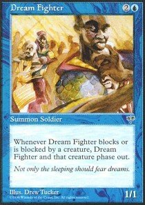 Magic: the Gathering - Dream Fighter - Mirage Dream Fighter