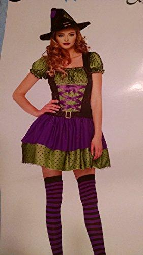 Hocus Pocus Witch Costume Woman M (8-10) (Hocus Pocus Witch Childrens Costume)