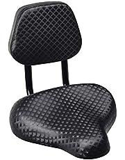 WZ YDTH Fiets Fietszadel, Holle Ergonomische Fietsstoel, Ademend Fietszitje Fietsen Comfort Faux Lederen Fiets Zadel Seat Met Rugleuning