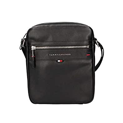 Tommy Hilfiger Men's Elevated Laptop Backpack Elevated Laptop Backpack, Black, One Size